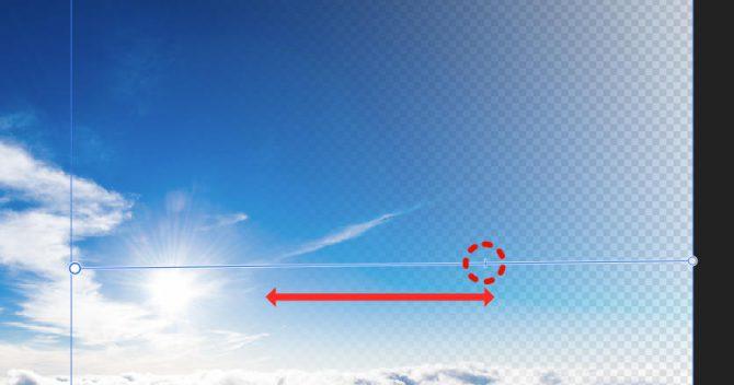 Affinity Photoの使い方 グラデーションマスクのやり方-グラデーションツール