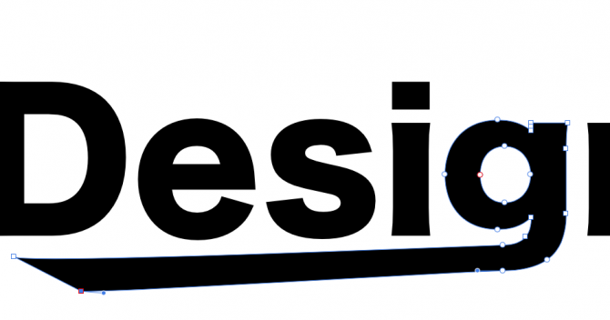 Affinity Designerの使い方-テキストのアウトライン化