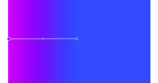 Affinity Designer 塗りつぶしツールでグラデーション