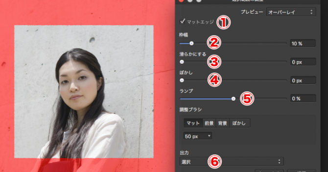 Affinity Designerの使い方-マーキーツールで写真を切り抜き-ピクセルペルソナ